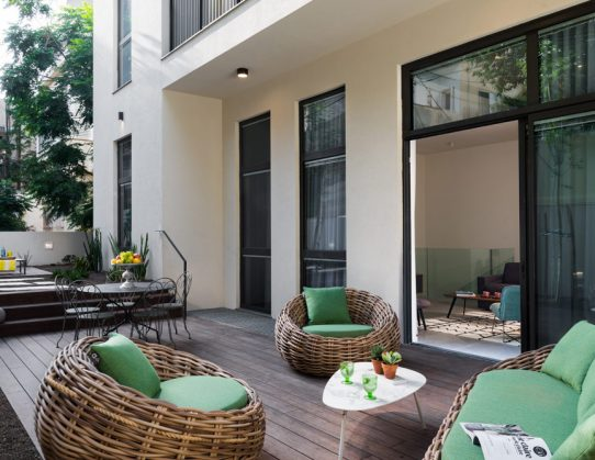 Penthouse and garden in TLV 2020