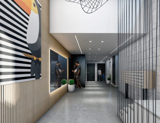 Lobbies design in Herzliya 2020