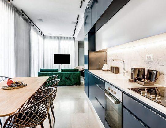 Garden apartment design in TLV 2020