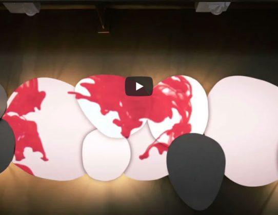 וידיאו ארט משולב בעיצוב (Video mapping)